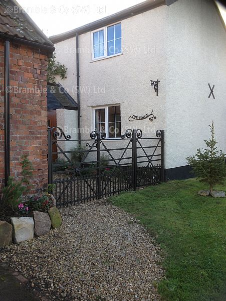 Estate Gates, Trull, Taunton